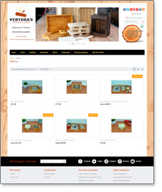 complementos de madera tienda