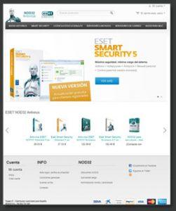 tienda virtual antivirus nod32