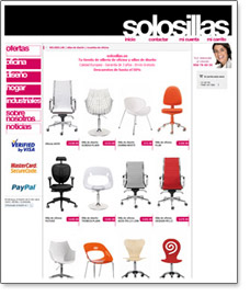 tienda virtual sillas